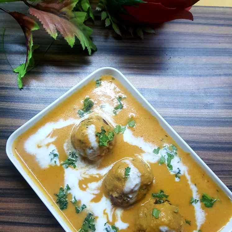 Photo of Raw papaya kofta curry by Radhika Chhabra at BetterButter