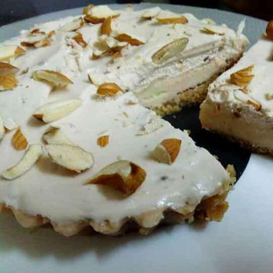 Photo of No bake biscuit barfi cake.. by PRadhika prat panchal at BetterButter