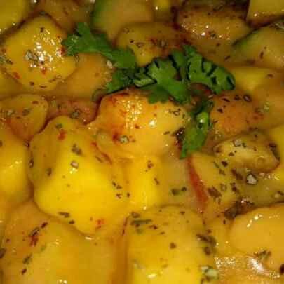 Photo of Mango creamy salad.. by PRadhika prat panchal at BetterButter