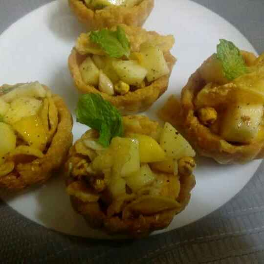 How to make Chatpati mango tart