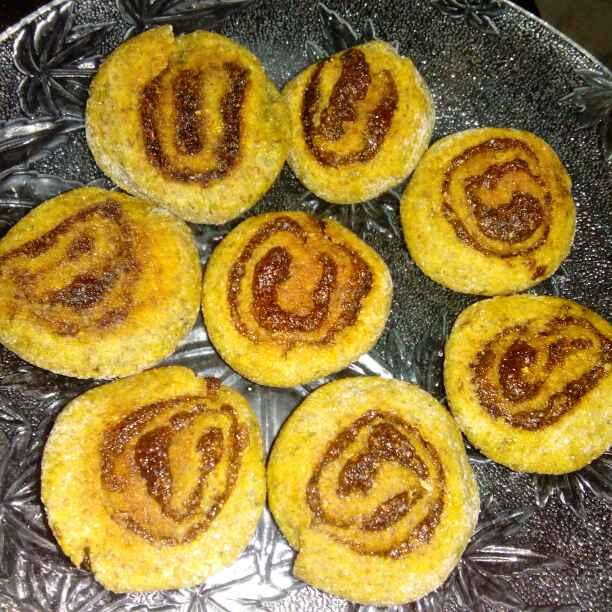 Photo of Chayawanprash roll cookies by PRadhika prat panchal at BetterButter