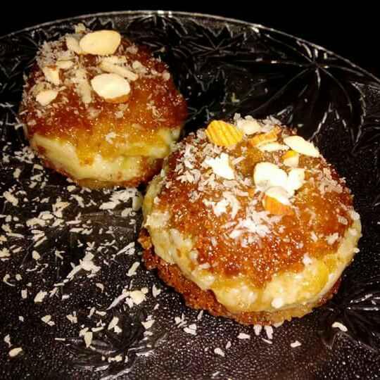 Photo of Honey mawa cake by PRadhika prat panchal at BetterButter