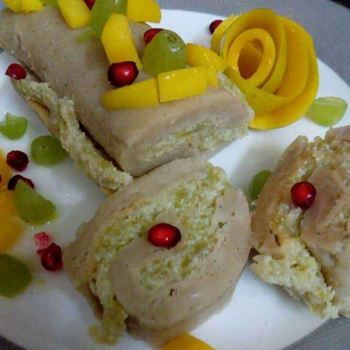 Photo of Falahari swiss roll by PRadhika prat panchal at BetterButter