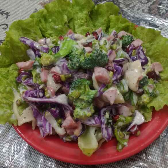 Photo of Salad in Thousand Island Dressing by Raiha Faraz at BetterButter