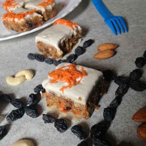 Photo of Vegan Raw Carrot cake with Cashew cream frosting by Raihanathus Sahdhiyya at BetterButter