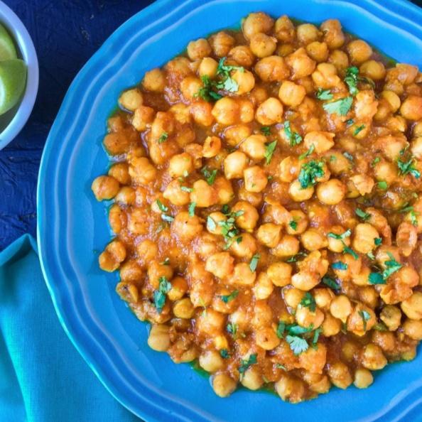How to make Chana Masala - Chickpeas Curry