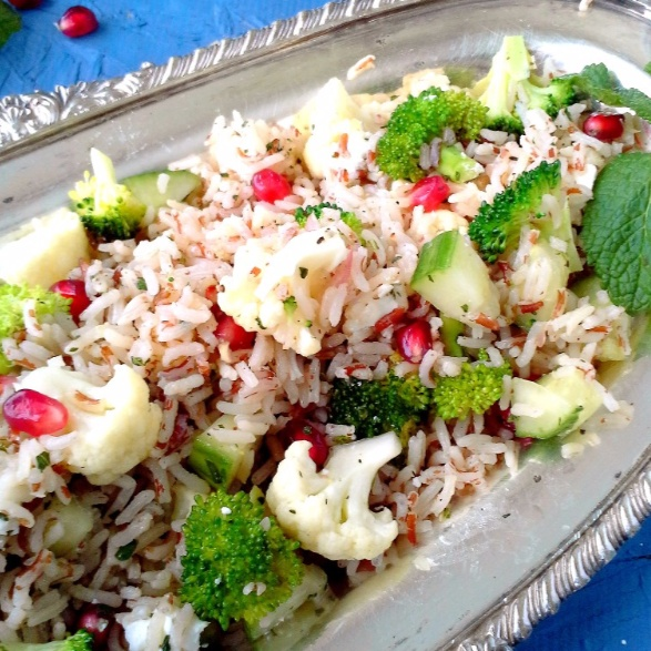 How to make Red Rice Salad