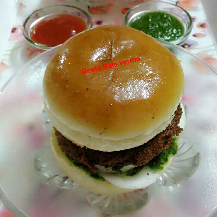 Photo of Veg burger by Geeta Verma at BetterButter