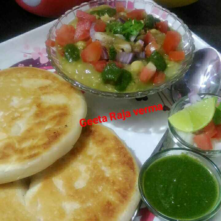 How to make Chhole kulche