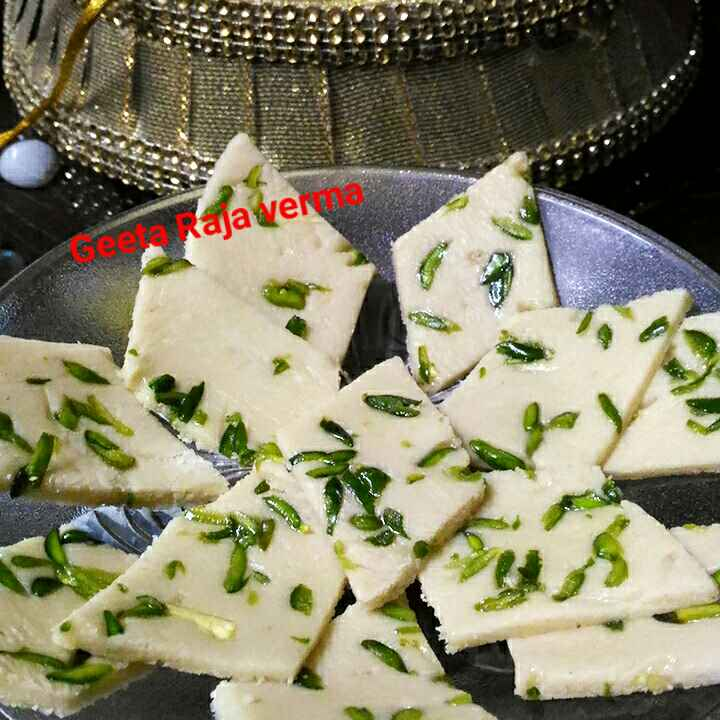 Photo of Kaju pista katli by Geeta Verma at BetterButter