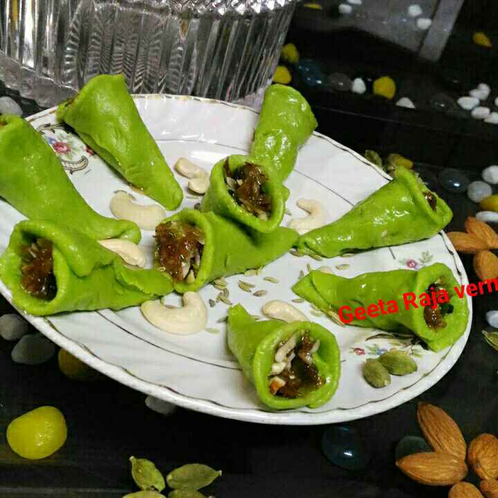 Photo of Kaju paan by Geeta Verma at BetterButter