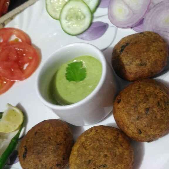 Photo of Black chick peas / kale chane ke kabab by Geeta Verma at BetterButter