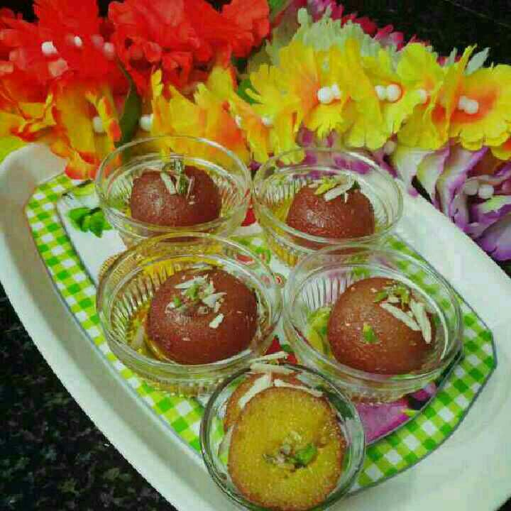How to make Kesharia GulabJamun