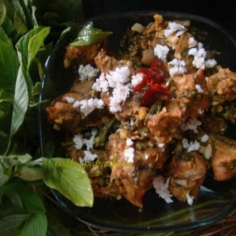 How to make Thotakura Chicken