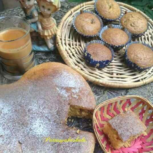 Photo of Oats jaggery carrots dates and walnut christmas cake by Rajeshwari Puthalapattu at BetterButter