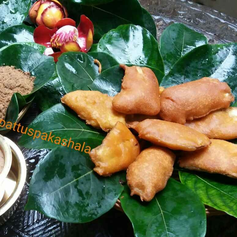 How to make Aratikaya bajji(raw plantain fritters)