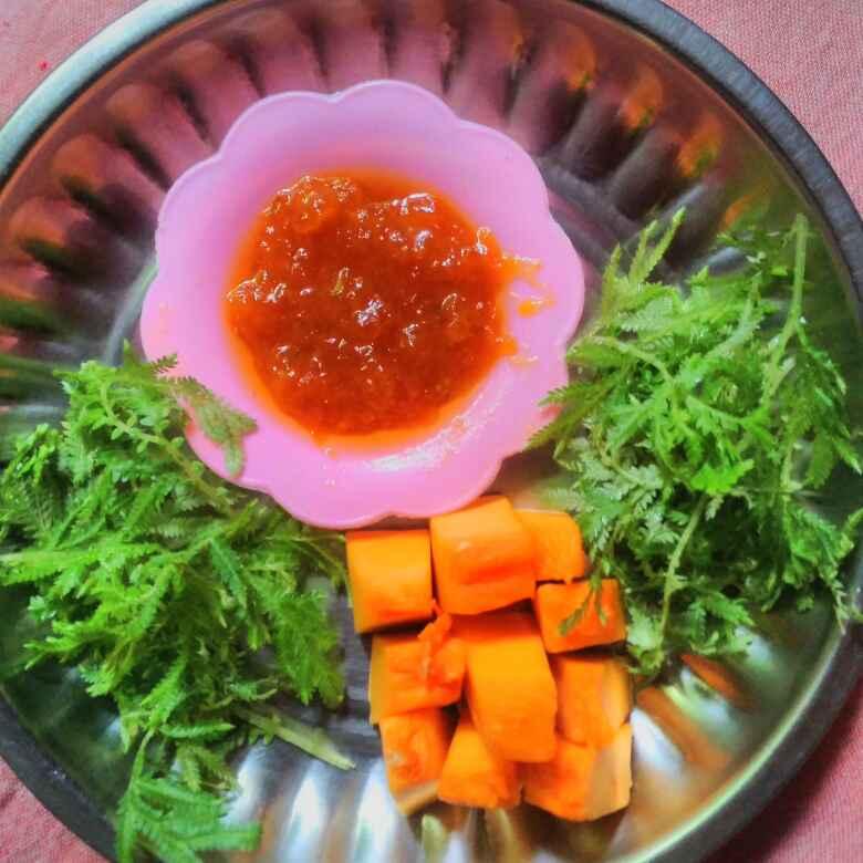 Photo of Honey pumpkin halwa by Rajeshwari Shyam Bhat at BetterButter
