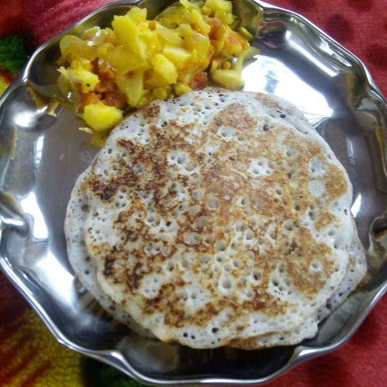 Photo of Poha Bread Dosa by Rajeshwari Shyam Bhat at BetterButter