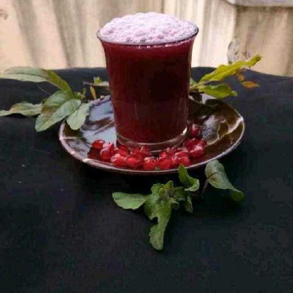How to make Pomegranate Tea Kashaya