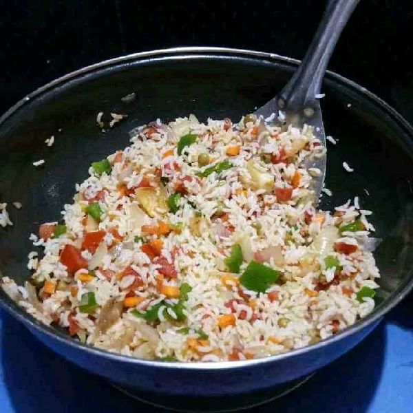 How to make Vegetable rice bath