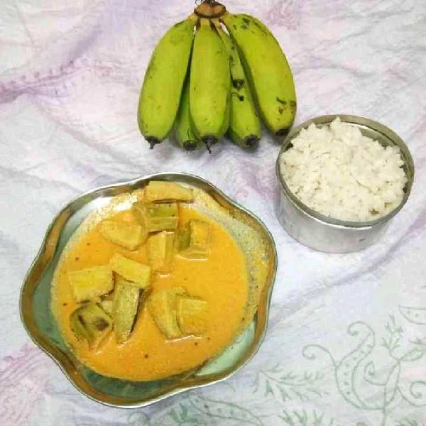 How to make Raw Banana curry