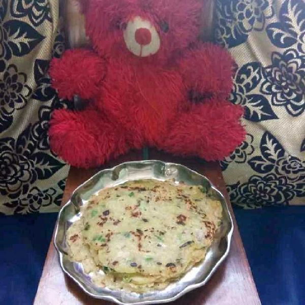 How to make Sweet Corn Roti