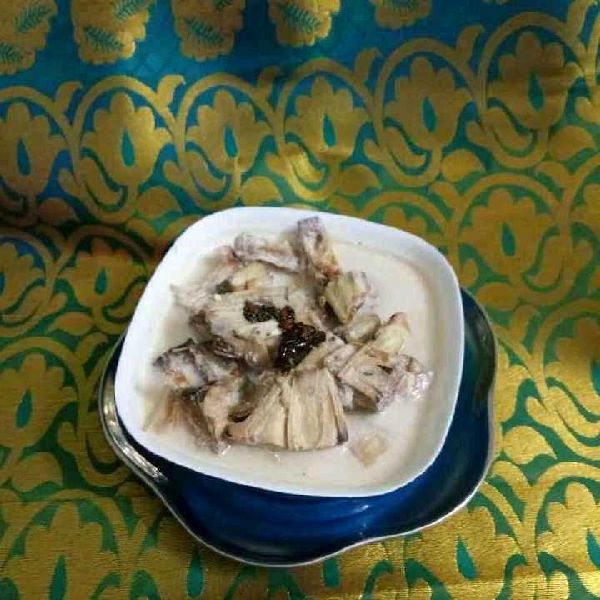 How to make Tender jackfruit buttermilk curry