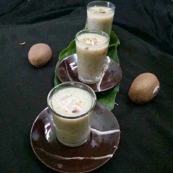 How to make Honey Glazed Kiwi Thandai