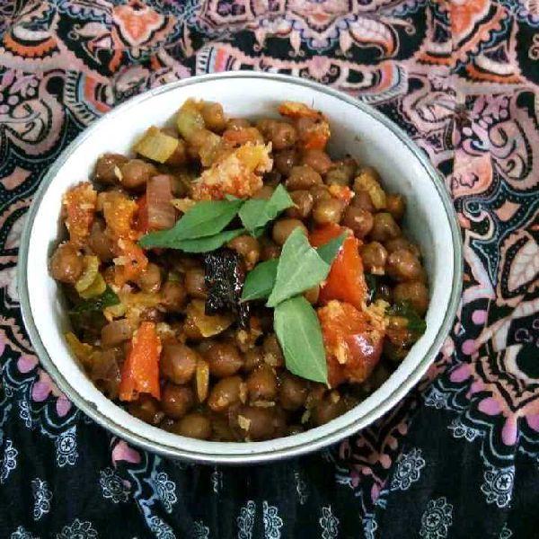 How to make Grandma's Style Brown Chickpeas Usli