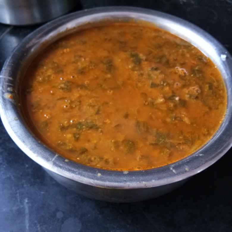 Photo of Green Amaranth leaves curry by Rajeshwari Shyam Bhat at BetterButter