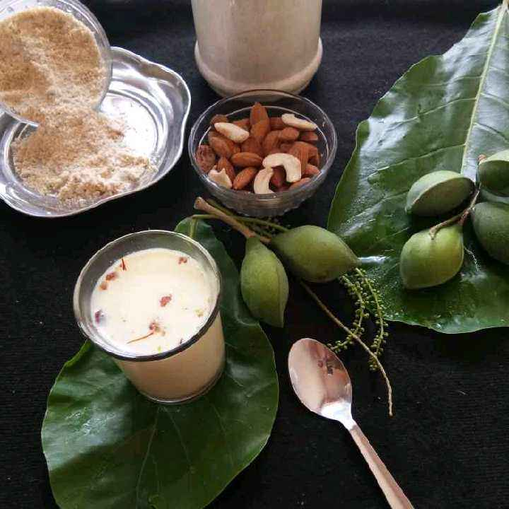 Photo of Kesar Badam Powder by Rajeshwari Shyam Bhat at BetterButter