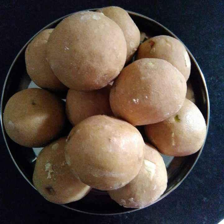 Photo of wheat  dry fruit laddu by Raji T at BetterButter