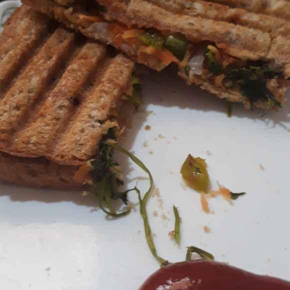 Photo of Wheat bread sandwich by Rajlaxmi Padsalge at BetterButter