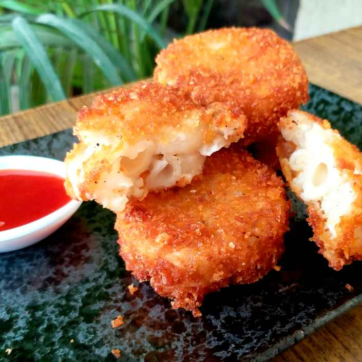 How to make Mac and cheese Cutlet