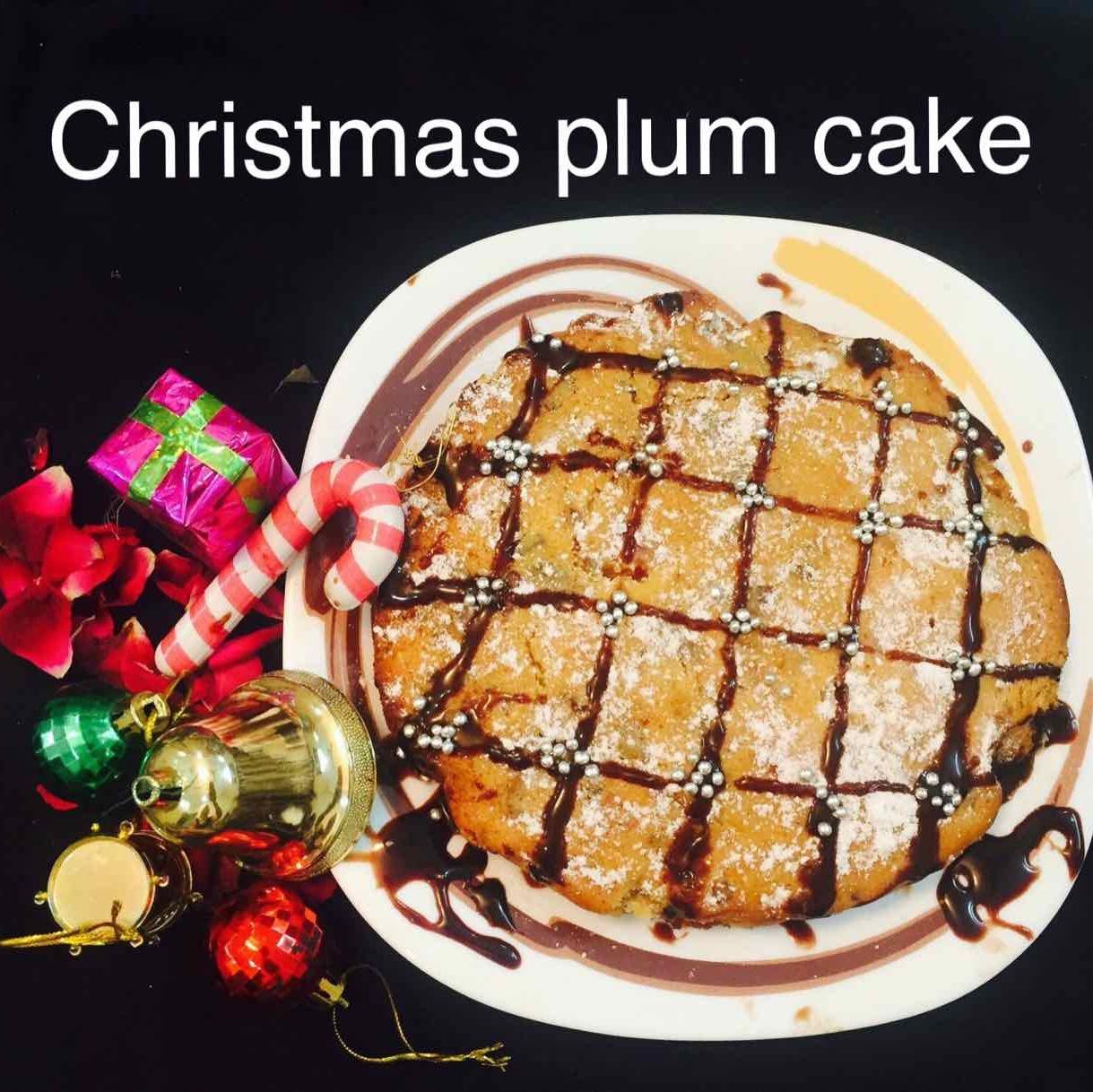 How to make Christmas plum cake
