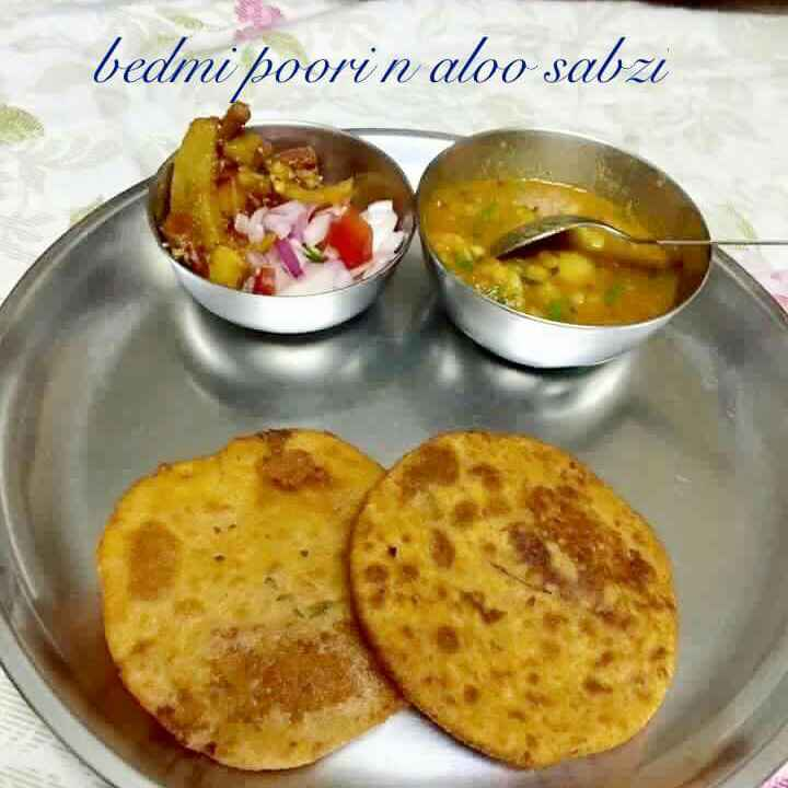 Photo of Bedmi puri aur aalu ki subzi by Rajni Bansal at BetterButter