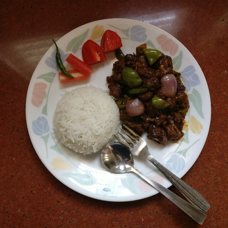 How to make Soy Manchurian