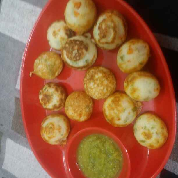Photo of Sooji ke appe by rajni vij at BetterButter