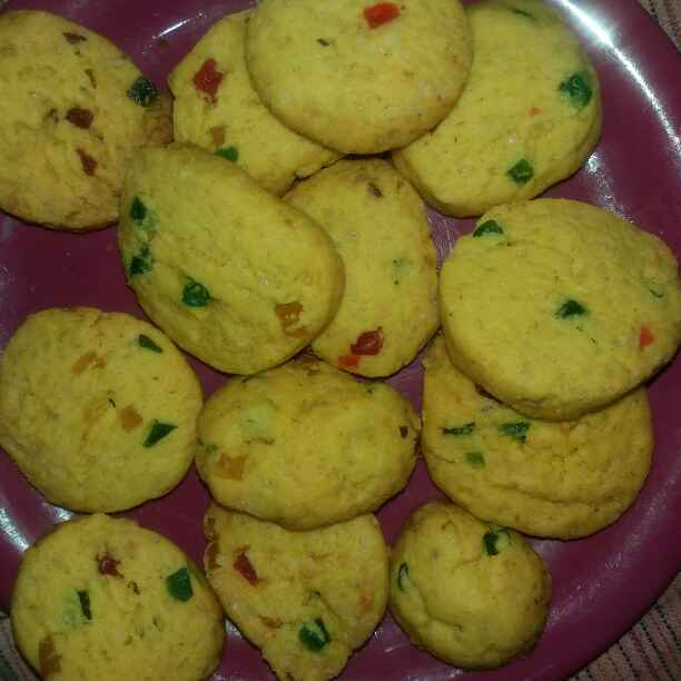 How to make tutti fruity biscuit