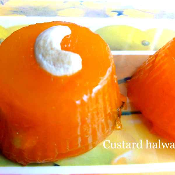 How to make Custard halwa