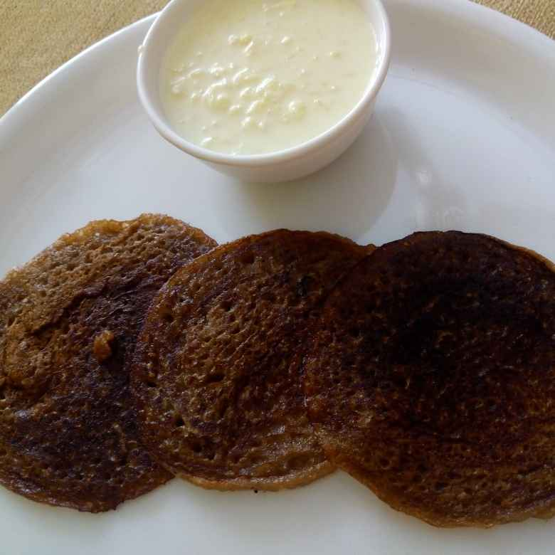 How to make Wheat jaggery pancakes with rice kheer