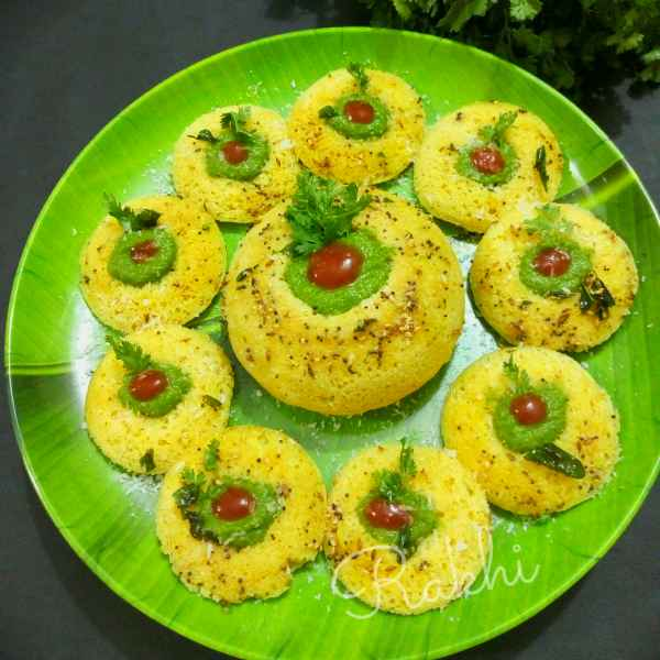 Photo of Gujrathi's innovative vati chana daal  doklas in idli mould by Rakhi Bhagat at BetterButter