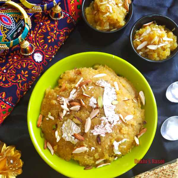 Photo of Moong daal Halwa by Rakhi Bhagat at BetterButter