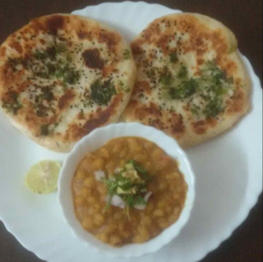 How to make stuffed kulcha matar