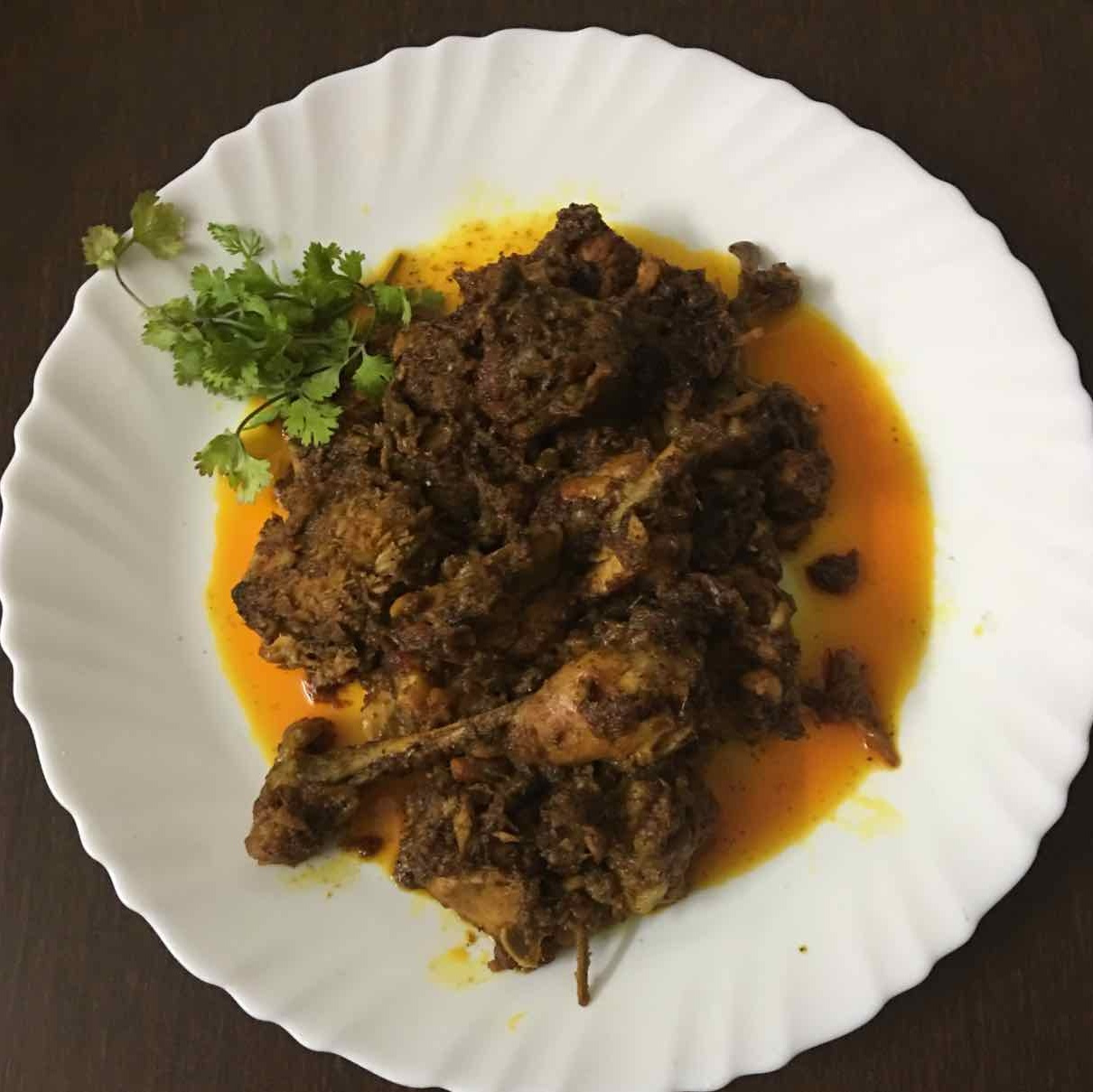 How to make chicken ghee roast