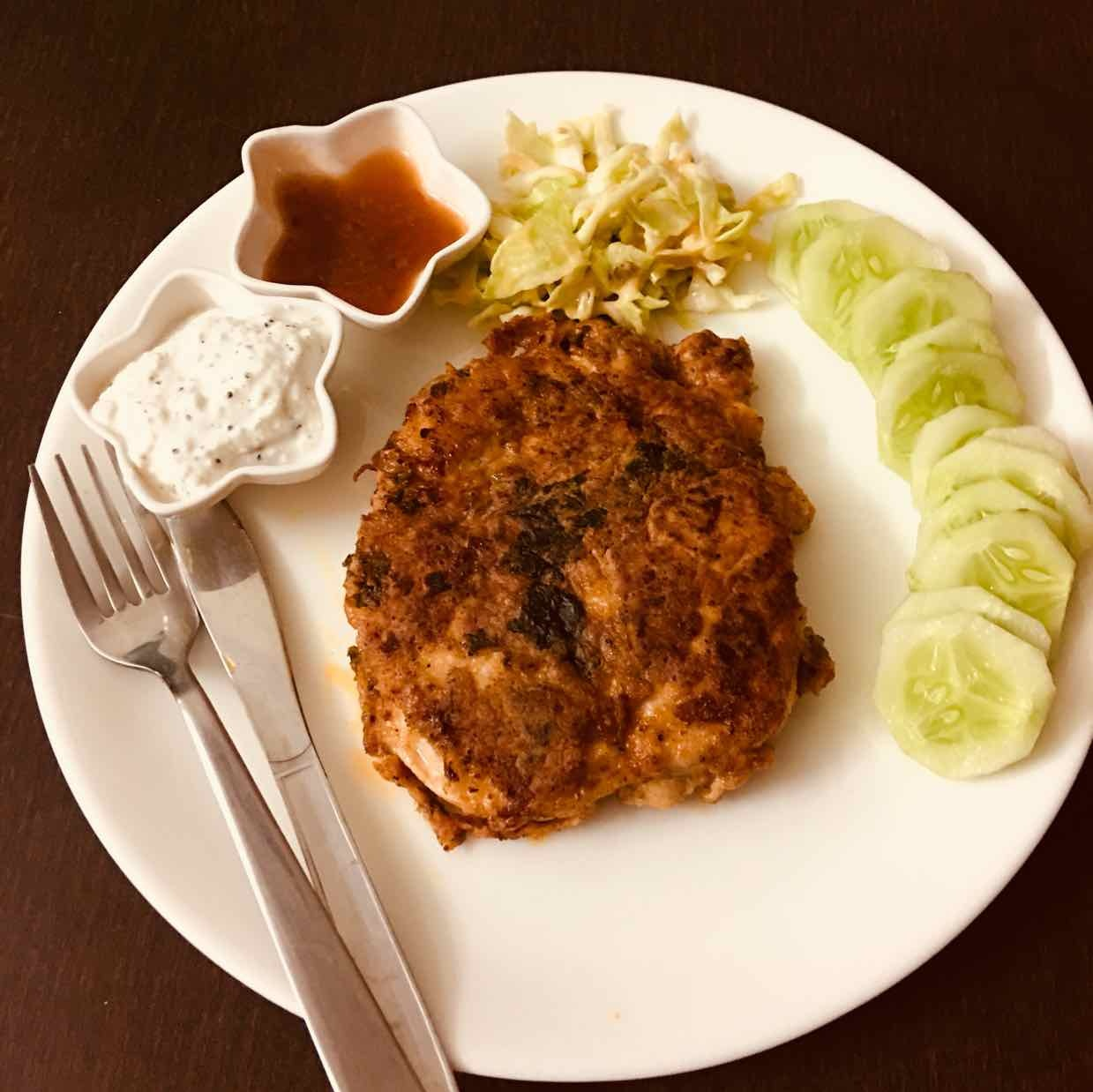 How to make chicken steak