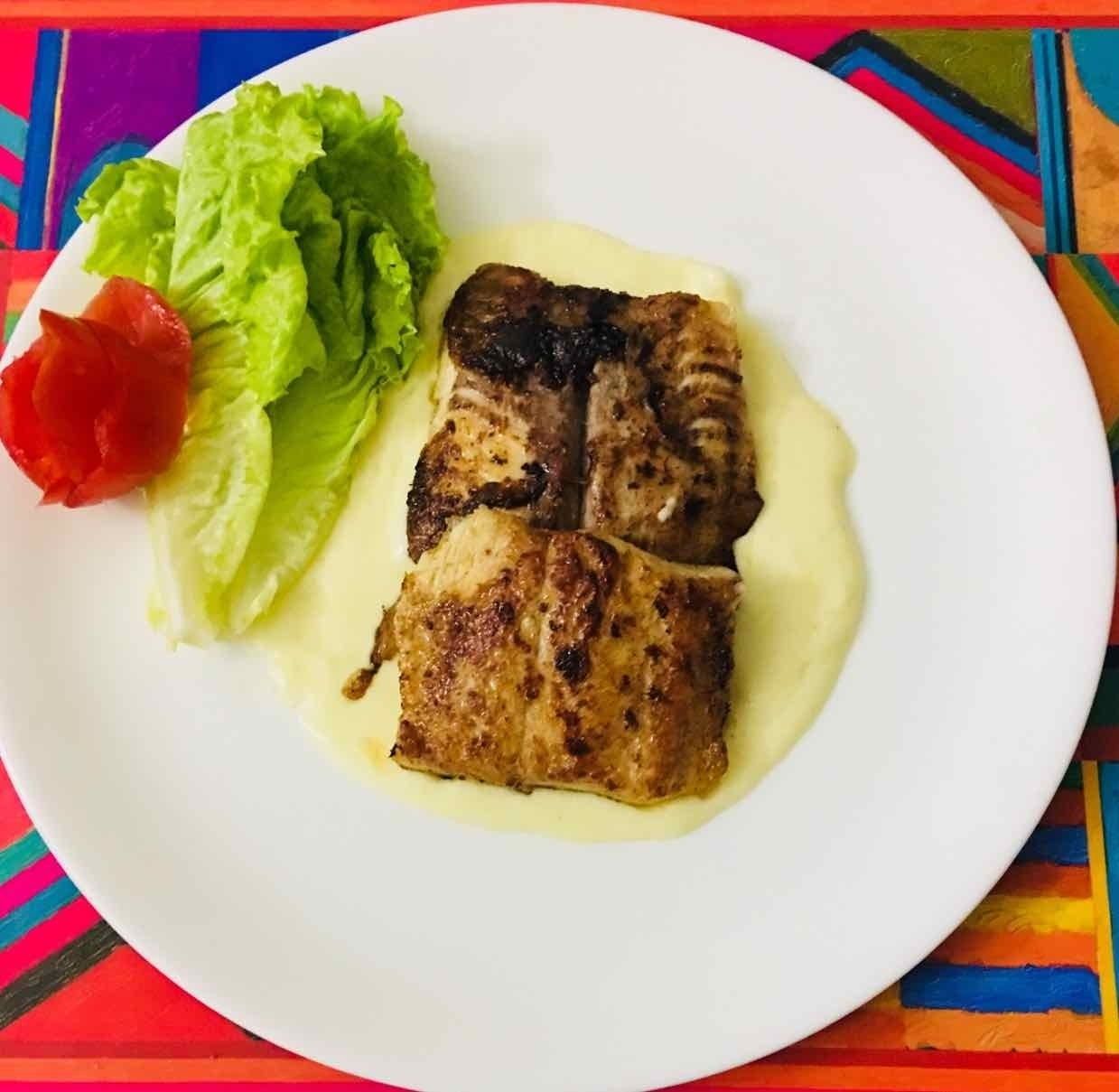How to make fish fillets in mango sauce