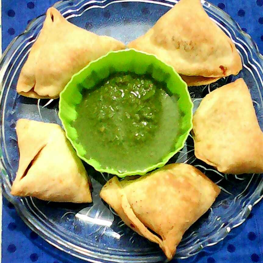 How to make Baked aloo samosa