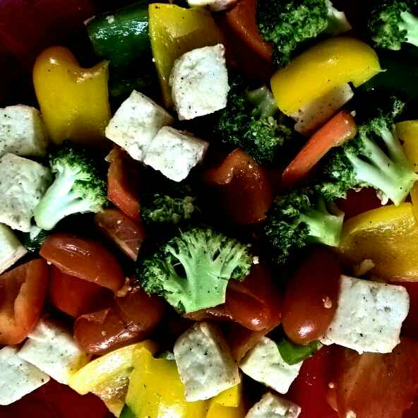 How to make Healthy Broccoli Tofu Fry
