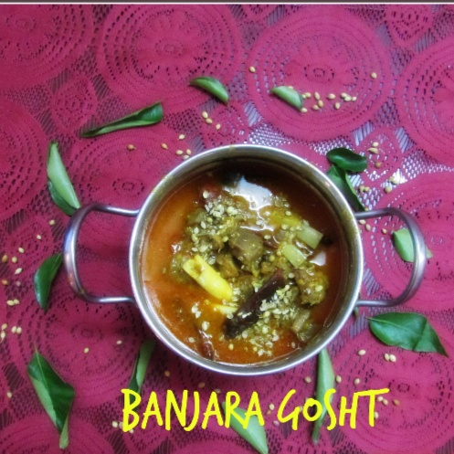 How to make Banjara Gosht/Mutton curry in Gypsy Style